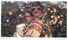 ze Smolenice - by Czech artist Joža Uprka (1861-1940, Hroznová Lhota), painter and graphic artist, whose work combines elements of Romanticism and Art Nouveau to document the folklife of Southern Moravia