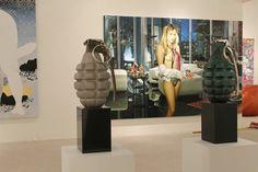 Setup Art Miami 2013 / Booth C15 / Michael Schultz Gallery Berlin www.parleau.com #simonraab #parleau #art #artfair