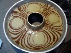 Zebrakuchen ungebacken