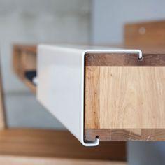 LAX wall mount desk by MASHstudios 2 35 Super Modern Office Desk Designs Office Furniture, Wood Furniture, Modern Furniture, Furniture Design, Furniture Layout, Furniture Online, Discount Furniture, Bureau Design, Wood Design