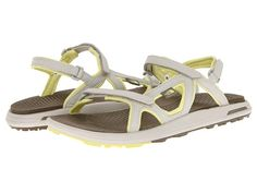 The North Face Women's Bolinas Sandal Moonlight Ivory/Chiffon Yellow - Zappos.com Free Shipping BOTH Ways