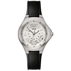 Swiss Army Women's Base Camp Silver Dial Rubber Strap Watch 241334