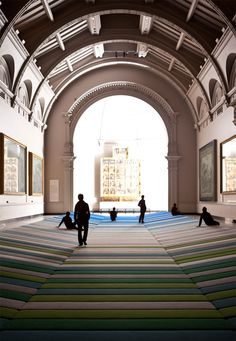 780fef0ce9c ronan + erwan bouroullec  textile field for kvadrat