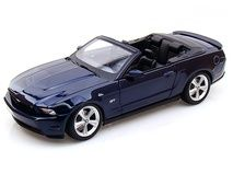 2010 Ford Mustang Convertible 1/18 Blue