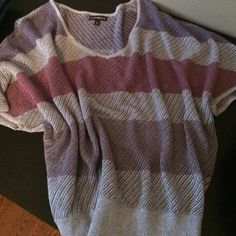 """Selling this """"Express short sleeved pullover"""" in my Poshmark closet! My username is: miranda_de. #shopmycloset #poshmark #fashion #shopping #style #forsale #Express #Sweaters"""