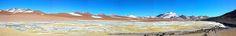 CHILE ES PAISAJE: HUMEDAL DE PUJSA, 4.585 msnm. Región de Antofagast...