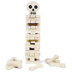 Stack the Bones Game for all you Jenga lovers!