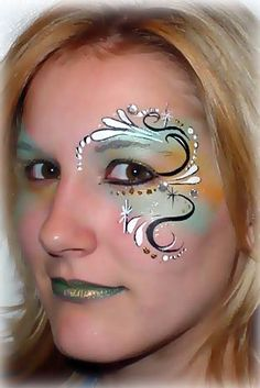 Fairy Face Paint -fantasy makeup