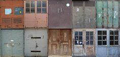 """Workingindustrial double doors by scandiforest. """"we have the amazing single doors by blackmojitos but I needed some industrial double doors in my game, so voila. • Base game compatible • TOU - dont..."""