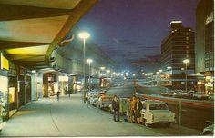 Birmingham (1970s postcard) Birmingham Canal, Birmingham City Centre, Birmingham England, Sutton Coldfield, Walsall, 2nd City, West Midlands, Googie, Vintage Photography