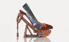 diseño de zapatillas exóticas