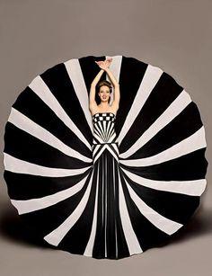 čierna a biela móda