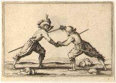 Jacques Callot engravings, LE DUEL A L'EPEE