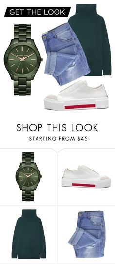 """Untitled #73"" by andzelika-niklewicz on Polyvore featuring Michael Kors, Alexander McQueen, Prada and Taya"