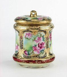 Nippon Porcelain Biscuit Jar