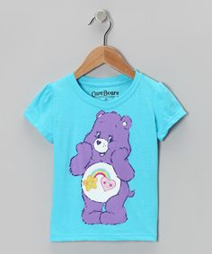 Take a look at this Blue & Purple Care Bears Tee - Toddler & Girls by Hasbro on #zulily today!