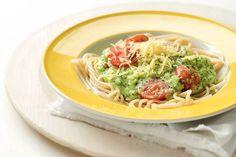 Kijk wat een lekker recept ik heb gevonden op Allerhande! Spaghetti met romige broccoli-kaassaus.
