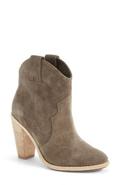 Joie 'Monte' Leather Bootie (Women) (Nordstrom Exclusive) available at #Nordstrom