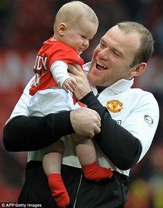 Wayne Rooney and his son Kai