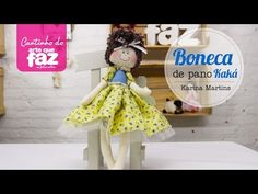 Boneca de pano (Karina Martins) - YouTube