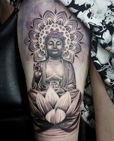 163 Tatuajes de Mandalas para Mujeres y hombres Tattoos 3d, Hindu Tattoos, Best Sleeve Tattoos, Badass Tattoos, Forearm Tattoos, Tattoo Sleeve Designs, Body Art Tattoos, Tattoos For Guys, Buddah Sleeve Tattoo