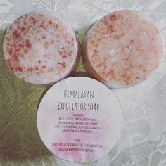 Pink Himalayan Exfoliator Soap Bar