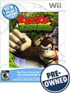 New Play Control: Donkey Kong Jungle Beat — PRE-Owned - Nintendo Wii