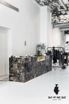 Out of the blue concept store in Eindhoven