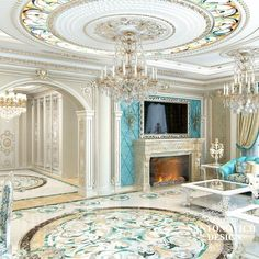 """Luxury Homes Interior Dream Houses Exterior Most Expensive Mansions Plans Modern 👉 Get Your FREE Guide """"The Best Ways To Make Money Online"""" Luxury Homes Interior, Luxury Home Decor, Home Interior Design, Room Interior, Elegant Home Decor, Elegant Homes, Classic Interior, Luxurious Bedrooms, Ceiling Design"""