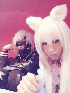Yuuki and Hiyuu (Lycaon)