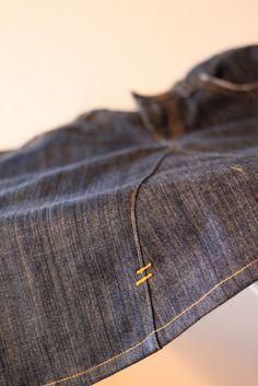 transformer un jeans en jupe