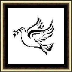 Dove of Peace Cross Stitch Pattern PDF Instant Download by HeritageStitch on Etsy