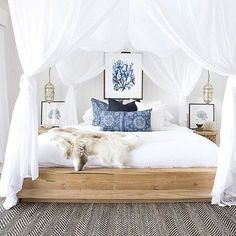 5 Ways To Design An Interior That Is Cool & Calm With Blue & White Tones