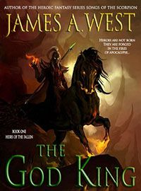 """Bargain book find of the day for $0: The God King by James A. West.  http://indiebookoftheday.com/bbs61330    """"Would I Recommend? I would recommend this book to anyone who has read The Name of the Wind, The Sword of Truth series, or the Game of Thrones series. The entire time I read this book, it made me want to read a bunch of other epic fantasy books! It's that good. """""""