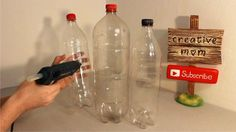 You might want to collect leftover plastic bottles when you see this adorable idea for your decor—and it lights up