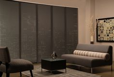 heavy panel shades | Maxxmar Panel Track System (Mira Vista Collection)
