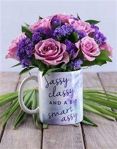 flowers: Sassy Class