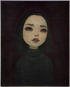 Juxtapoz Magazine - The Work of Hideaki Kawashima Art And Illustration, Illustrations, Artwork Display, Art Plastique, Love Art, Dark Art, Oeuvre D'art, Painting & Drawing, Art Photography