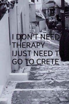 Cretan alternative therapy.