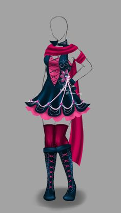 Outfit design - 140 - closed by LotusLumino on DeviantArt