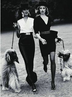 ✿ frou-frou bff's and their frou-frou doggies