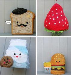 Food-Themed Piñatas By Whack Piñateria—LOVE!!!
