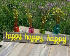 Rustic Table Signs party YOUR WORDS Wedding by TRUECONNECTION, $34.00