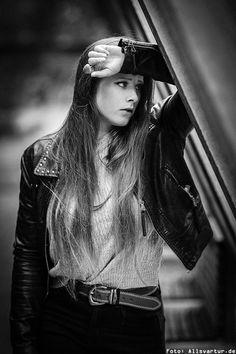 Model: Milla_1z / Herbst Fotoshooting Hamm / Foto: Allsvartur.de