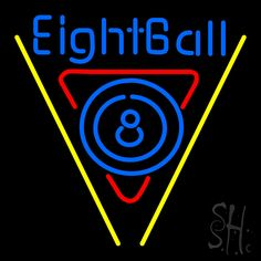 8 Ball Pool Neon Sign 24 Tall x 24 Wide x 3 Deep, is 100% Handcrafted with Real Glass Tube Neon Sign. !!! Made in USA !!!  Colors on the sign are Blue, Red and Yellow. 8 Ball Pool Neon Sign is high impact, eye catching, real glass tube neon sign. This characteristic glow can attract customers like nothing else, virtually burning your identity into the minds of potential and future customers. 8 Ball Pool Neon Sign can be left on 24 hours a day, seven days a week, 365 days a year...