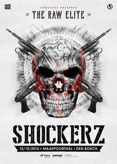 SA DEC 12TH 2015 | Shockerz | 'The Raw Elite' | Maaspoorthal Den Bosch NL