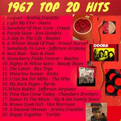 It was a very good year. Top 20 Hits, Sunshine Of Your Love, Music Hits, Somebody To Love, Song Playlist, Playlist Ideas, Old Song, Light My Fire, Song List