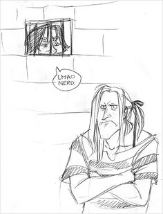 lucius can't do his own hair by Makani