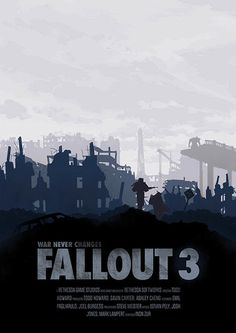 Fallout Poster Set by Conor Smyth, via Behance Video Game Logic, Video Game Art, Video Games, Fallout Posters, Fallout Art, Gaming Posters, Fallout New Vegas, Game Tester Jobs, Bethesda Softworks