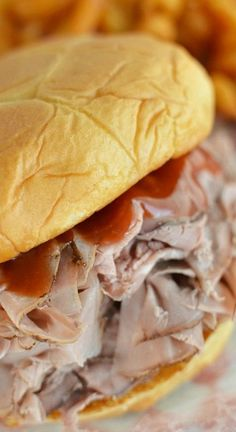 Arby's Sauce Recipe ~ Make your own roast beef sandwich the easy way!
